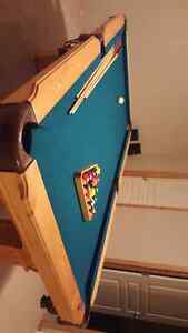 POOL TABLE FOR SALE PRICE CAN BE NEGOTIATED