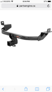 New CURT Trailer Hitch - Jeep Cherokee