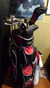 Golf clubs Ping, TaylorMade, Cleveland and Callaway