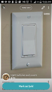 Light covers and switches