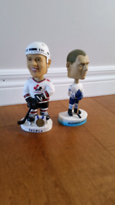 Bobbleheads - NHL's Iginla and Mogilny