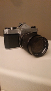 1976 Pentax Asahi Camera with Lens
