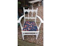 Chair with Dachshund Fabric