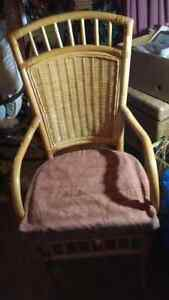 Rattan chairs and cushions Negotiable