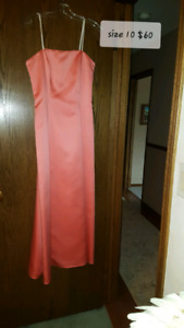 Size 10 formal strapless dress