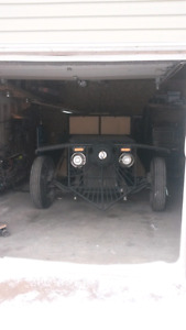 Rat rod BB chev El fu in 5 speed dually runs good p's pb