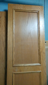 Fridge side panel-oak