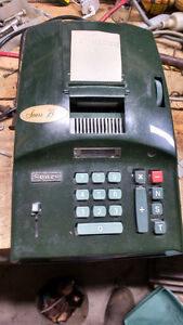 Sears Electric Adding Machine Model 5818 Vintage