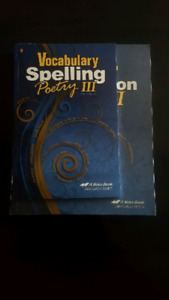 Grade 9 Vocabulary Spelling plus Grammar Composition Book