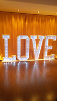 Marquee LOVE Sign $500 Rental