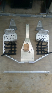 Quad skid plates, axle, remote start/alarm, jack