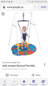 Jolly jumper and play mat and exsercauser