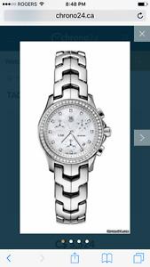TagHeuer Link Ladies Chronological 54 Diamonds