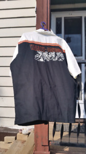 Harley Davidson shirt brand double pocket