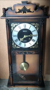 MCM Retro Grandfather Wall Clock Reduced Price Must Go!