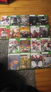 Lot de jeux Xbox360