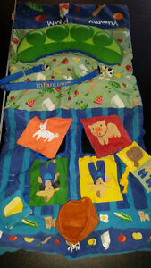 Baby - Infantino Shopping Cart Cover And Play Mat only $8