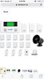 Fortress home security system alarm  gsm-b