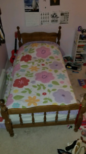 2 Beds / 1 Bunk Bed - Solid Wood - Reduced