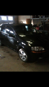 2007 Pontiac Wave Black Other