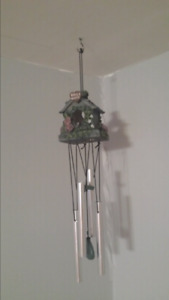 Brand New - Cute Little Bird House Wind Chime
