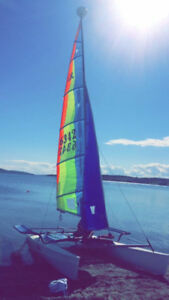 17ft Hobie Sport with all the extras