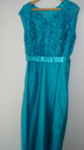 FORMAL FULL-LENGTH GOWN WITH LACE JACKET