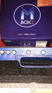 Digidesign Mbox 2 with Pro Tools and all original software.
