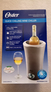 Oster chilling wine chiller new in box