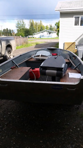 12 ft princecraft with 15hp suzuki