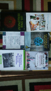 Complete set of text books for Human Services Course offerered a