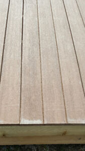 "Deck or Dock - 10'6""x4' Pressure Treated Frame/Composite Decking"