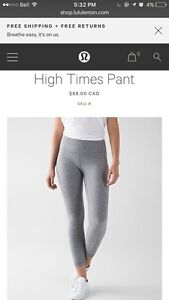 BRAND NEW Lululemon High times