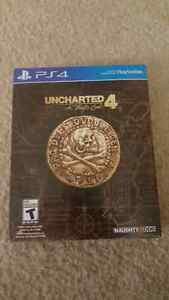 Uncharted 4 collectors edition Playstation 4
