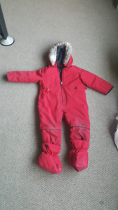 Winter suit for toddler / baby