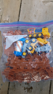 Large Bag full of trains and tracks