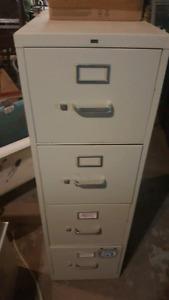 Metal filing cabinet!