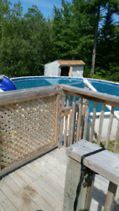 30 foot pool and all equipment