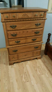 Beautiful wooden antique style dresser