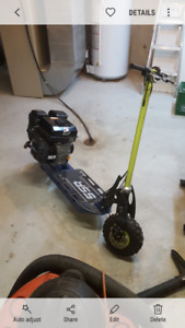 212 Gas scooter / go ped/ mini bike / go kart