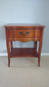 Malcolm French provincial side table