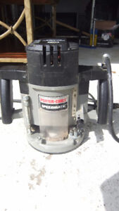 PORTER-CABLE 7539 3-1/4-HP Speedmatic 5-Speed Plunge Router