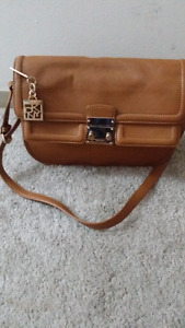 Authentic brand new DKNY leather purse