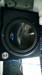 Alpine Type-S 12 inch sub in box