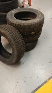winter tires 195/65R15 used only one winter
