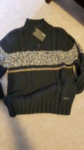 NWT boys sweater,pants, shirts shoes