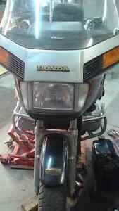 1984 Honda Goldwing 1200 Interstate.