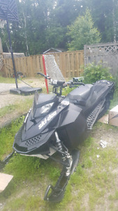 2009 skidoo summit 800 154""