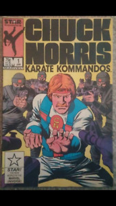 First Issue #1 - Chuck Norris Comic (1987)