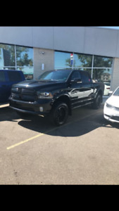 2016 Black Dodge Ram 1500 Sport Special Edition